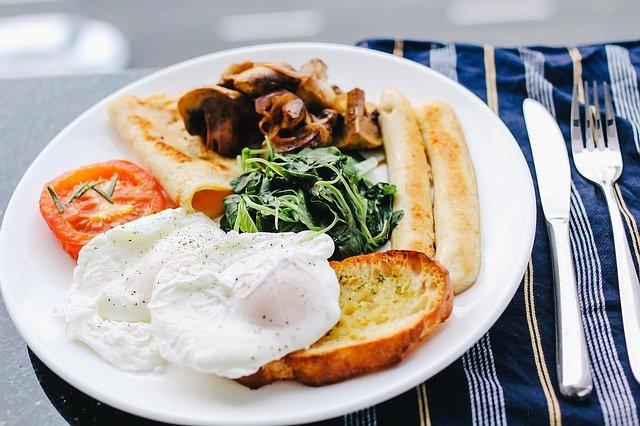 colazione cotta al fuoco